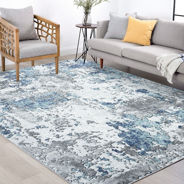 Alise Rugs Jayde Contemporary Abstract Area Rug. Opens flyout.