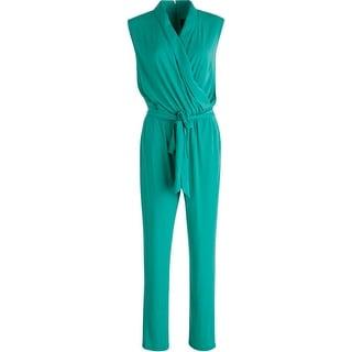 Vince Camuto Womens Sleeveless Matte Jersey Jumpsuit - M