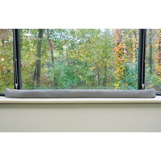 "Window Condensation Moisture Absorber Water Snake - Water Barrier, Dehumidifier, and Draft Stopper 68"" x 6"""