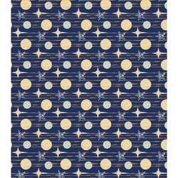 "Blue Stars - Craft Consortium Decoupage Papers 13.75""X15.75"" 3/Pkg"