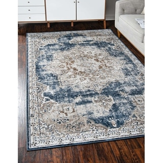 Link to Unique Loom Roosevelt Chateau Area Rug Similar Items in Transitional Rugs