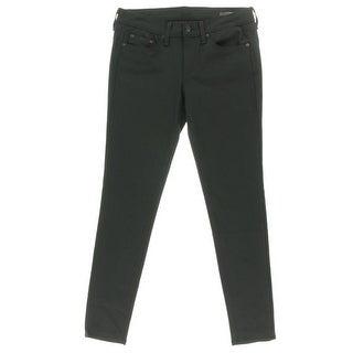 Rag & Bone Womens Equestrian Denim Mid-Rise Skinny Jeans