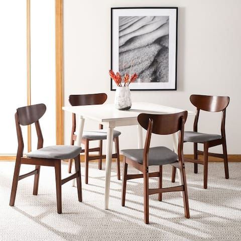 "Safavieh Lucca Retro Dining Chair (Set of 2) - 17.3"" x 20.8"" x 33.1"" - 17.3"" x 20.8"" x 33.1"""