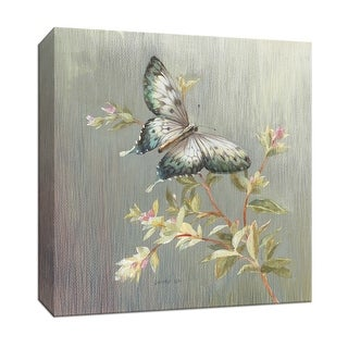 "PTM Images 9-152971  PTM Canvas Collection 12"" x 12"" - ""Natural Detail II"" Giclee Butterflies Art Print on Canvas"