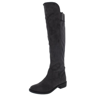 Link to Rebel by Zigi Womens Onley Leather Round Toe Knee High Fashion Boots Similar Items in Women's Shoes