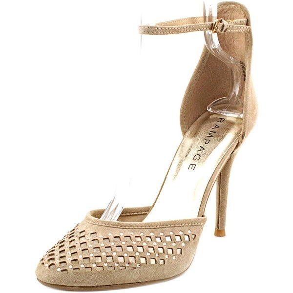 Rampage Junior Women Round Toe Synthetic Brown Heels