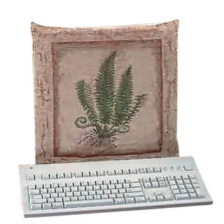 Computer Cover Stone Green Woven Tapestry Renovator's Supply