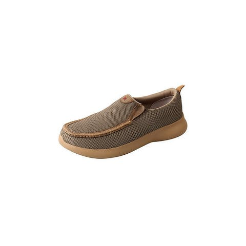 Twisted X Casual Shoes Mens Slip On Two Tone EVA Olive