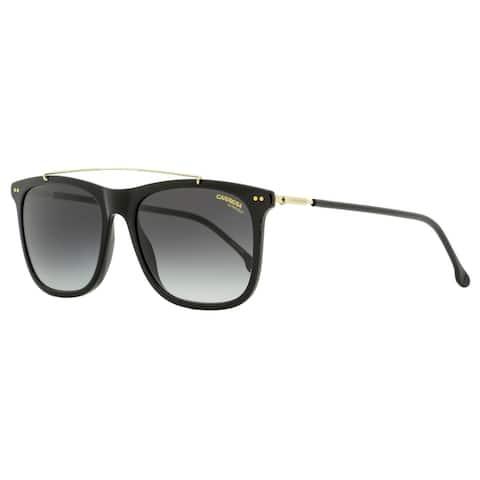 Carrera 150/S 8079O Mens Black/Gold 55 mm Sunglasses
