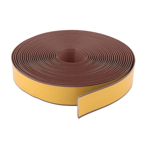 Living Room PVC Adhesive Anti Skid Stairs Ladders Tape Coffee Color 36.1 Ft
