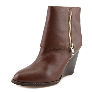 Corso Como Scarsdale Women Pointed Toe Leather Brown Bootie