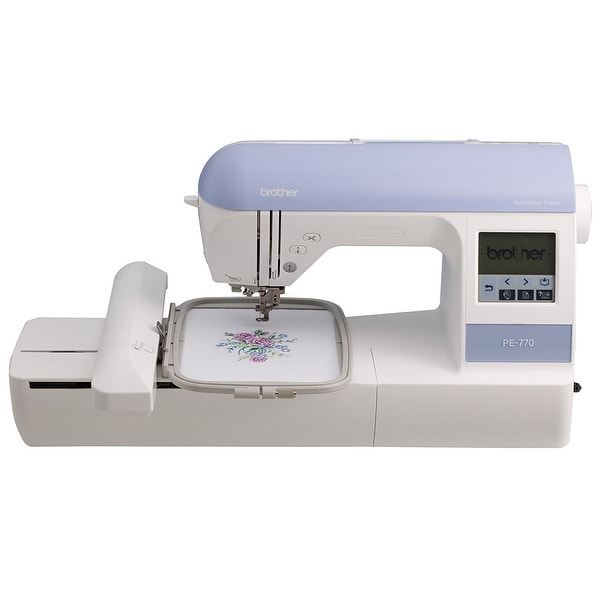 Brother Sewing Pe770 5 Inch X 7 Inch Embroidery Machine With Built-In Memory - Usb Port