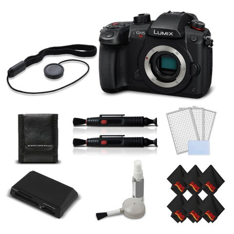 Panasonic Lumix DC-GH5S Mirrorless MFT Camera Intl Version + Accessories Kit Bundle