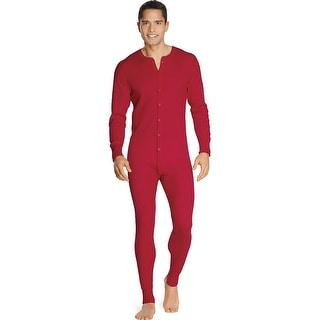 Hanes X-Temp Men's Organic Cotton Thermal Union Suit 3X-4X