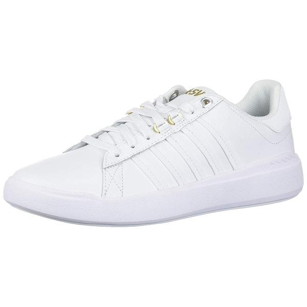 dde5383307de70 Shop K-Swiss Women s Pershing Court Light CMF Sneaker - Free Shipping On  Orders Over  45 - Overstock - 27549909