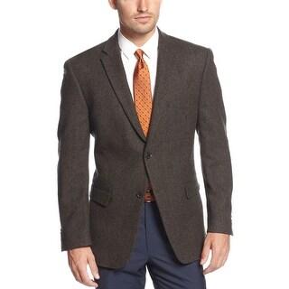 Tommy Hilfiger Willow Olive Wool Herringbone Sportcoat Blazer 40 Regular 40R