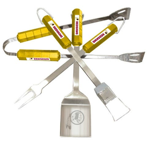 Siskiyou Sports Washington Redskins 4 Piece Bbq Set Barbeque Set