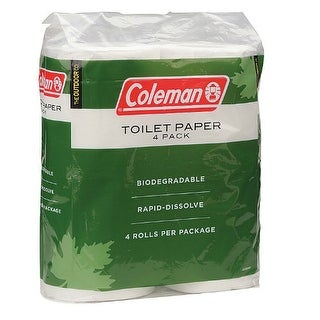 Coleman 4 Pack Toilet Paper Toilet Paper