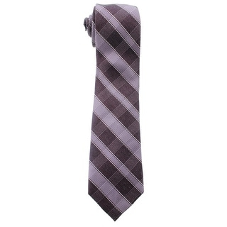 MICHAEL Michael Kors Mens Plaid Silk Neck Tie - o/s