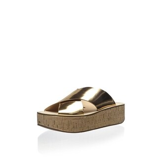 Marc Fisher LTD Women's Icy Sandal, Light Natural