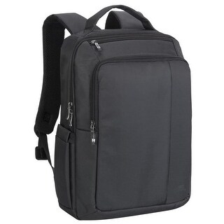 Rivacase 8262BLCK 15.6 in. Laptop Backpack, Black - 6