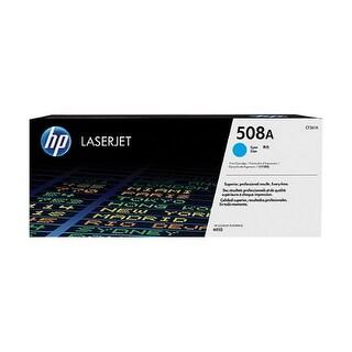 Hewlett Packard CF361A HP 508A Toner Cartridge - Cyan - Laser - 5000 Page Each -