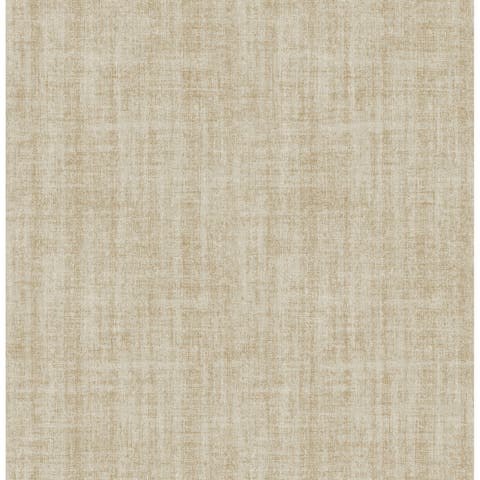 Brewster NU2496 Ramie 30-3/4 Square Foot Vinyl Linen Peel and Stick Wallpaper -