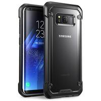 Galaxy S8 Plus Case, SUPCASE Unicorn Beetle Series Premium Hybrid Protective Frost Clear Case-Frost/Black