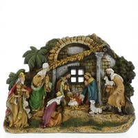 Christmas Nativity Stable Scene