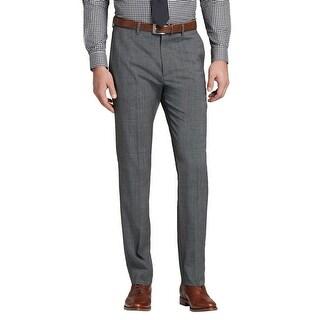 Theory Jake Kepler Slim Fit Flat Front Dress Pants Charcoal Size 31