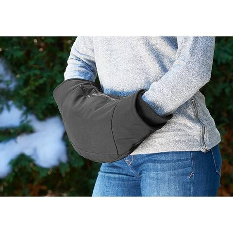 Sharper Image The Ultimate Heated Hand Cozy - One Size