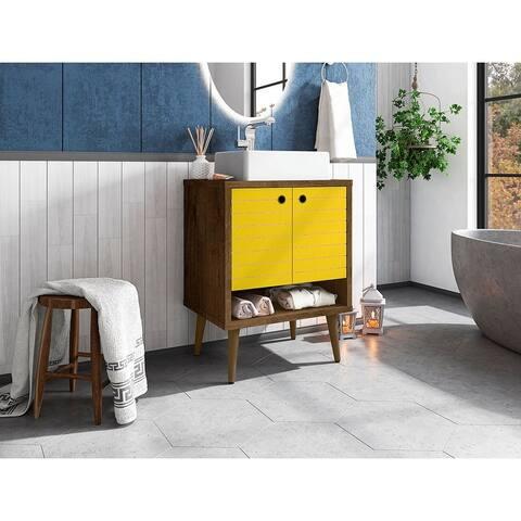 Liberty 23.62 Bathroom Vanity with Sink and 2 Shelves