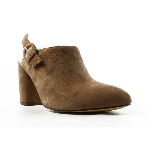 1afe5e89eb1d Shop Nine West Womens 25029847 Natural Booties Size 9.5 - On Sale ...