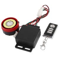 Unique Bargains Waterproof Motorcycle Anti-theft Security Alarm System w Remote Engine Start