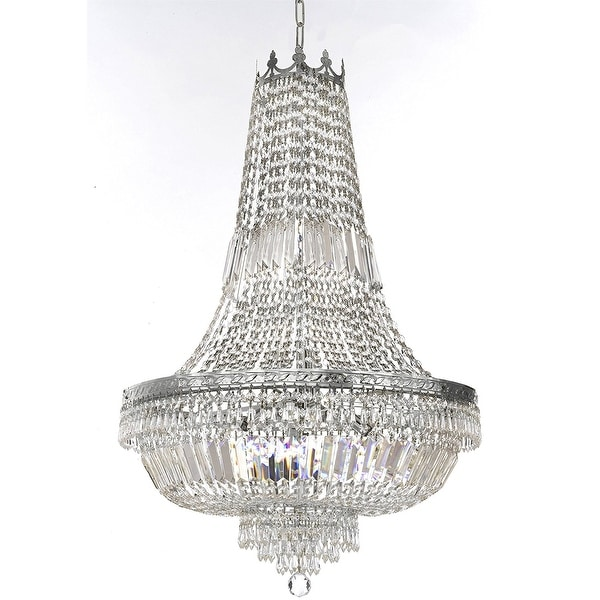 Shop French Empire Crystal Chandelier Lighting - Free Shipping Today -  Overstock - 20192669 55debf63384e
