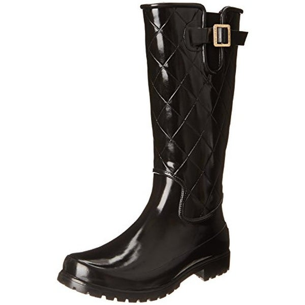 Sperry Womens Pelican III Rain Boots Quilted Rubber