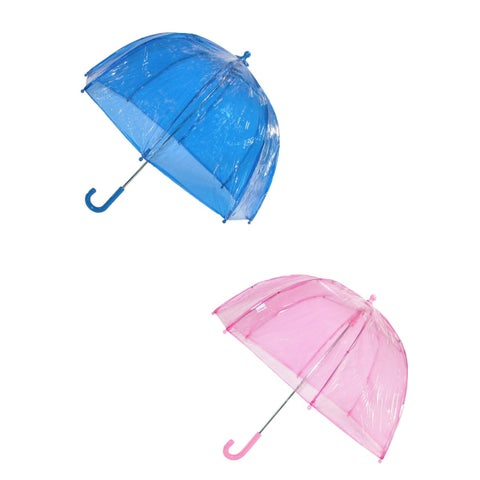 Totes Kids' Clear Bubble Umbrella (Pack of 2) - One size