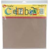 """Natural - Medium Weight Chipboard Sheets 12""""X12"""" 6/Pkg"""
