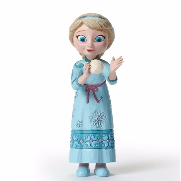 "Disney Traditions Frozen Showcase Collection ""Young Elsa"" Figurine #4050764"