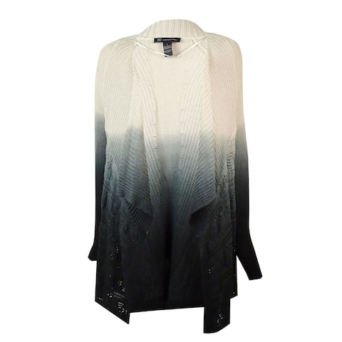 bf53599fc85 INC International Concepts Women s Ombre Pointelle Cardigan