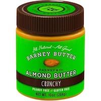 Barney Butter - Crunchy Almond Butter - Peanut Free ( 6 - 10 oz jars)