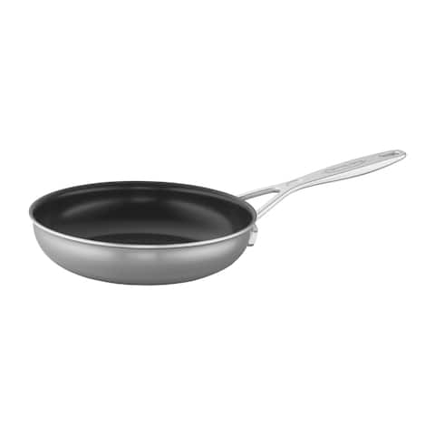 Demeyere Industry 5-Ply Stainless Steel Traditional Nonstick Fry Pan