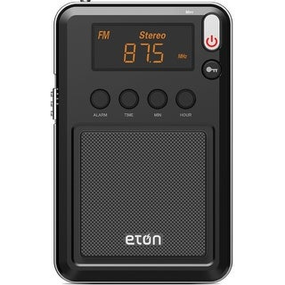 Eton WMINI Mini Compact AM/FM/Shortwave Radio, Black