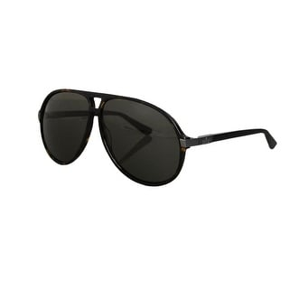 Gucci Unisex Havana Aviator Sunglasses GG 1646/S
