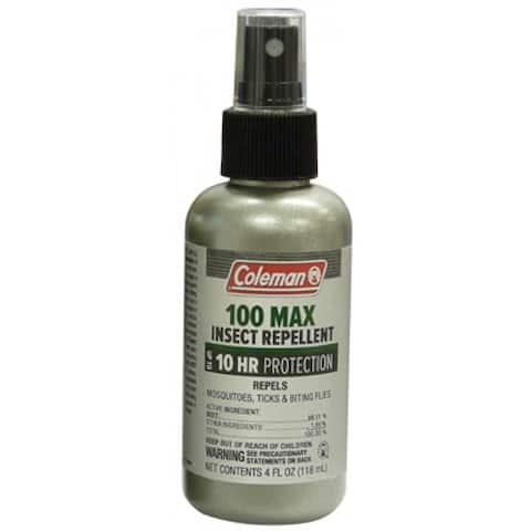 Coleman 7434 Insect Repellent, 100% Deet, 4 Oz