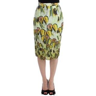 Lanre Da Silva Ajayi Lanre Da Silva Ajayi Multicolor Organza Pencil Skirt