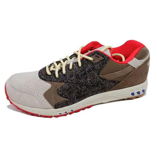 Reebok Men's Inferno Suede Alabaster/Olive-Black Bodega Tweed M48297