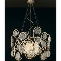 "Classic Lighting 10045 22"" Artistic Chandelier from the Celeste Collection"