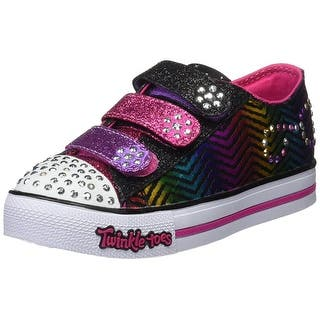 Skechers Girls' Twinkle Toes Step Up Sparkle Spice Sneaker,Black/Hot Pink (Option: 13.5)|https://ak1.ostkcdn.com/images/products/is/images/direct/a1fa77bbf17fd674cf704b0a11e9cef981aa2d17/Skechers-Girls%27-Twinkle-Toes-Step-Up-Sparkle-Spice-Sneaker%2CBlack-Hot-Pink.jpg?impolicy=medium