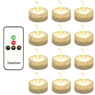 Long Lasting Battery Operated LED Tealights Candle with Timer